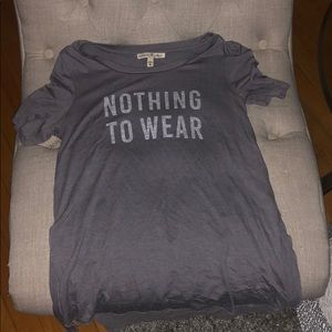 Express one eleven graphic T - nothing to wear